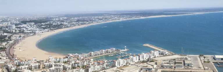 Billiga paketresor till Agadir och Marrakech