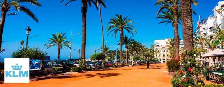 Summertime - fly til Alicante, Barcelona og Lisboa med KLM