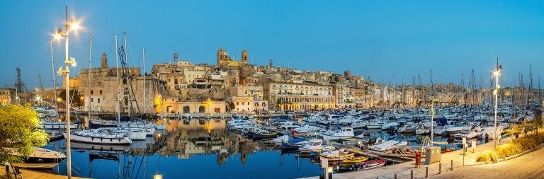 Billigaste resorna till Malta från hela Sverige