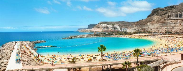 Billiga paketresor till 27 badorter på Kanarieöarna