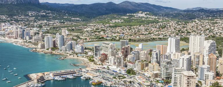 Alicanteområdet med SOLFAKTOR