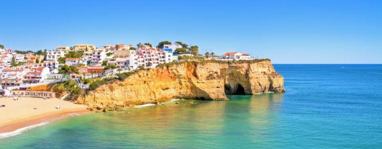 Reis til Algarvekysten