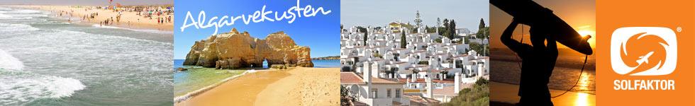 Algarvekusten med SOLFAKTOR