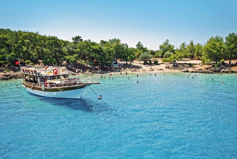 Tyrkiske feriesteder med SOLFAKTOR fra Billund