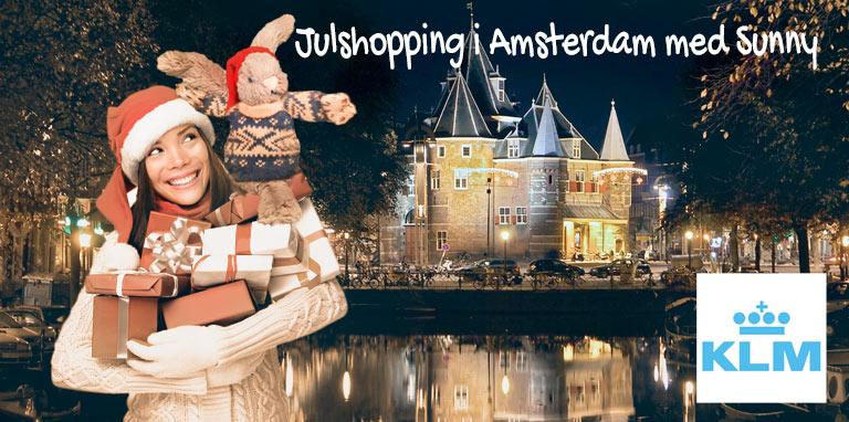 Med KLM, Sunny och solfaktor.se till Amsterdam