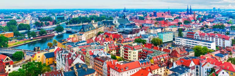 Billiga paketresor till Wroclaw
