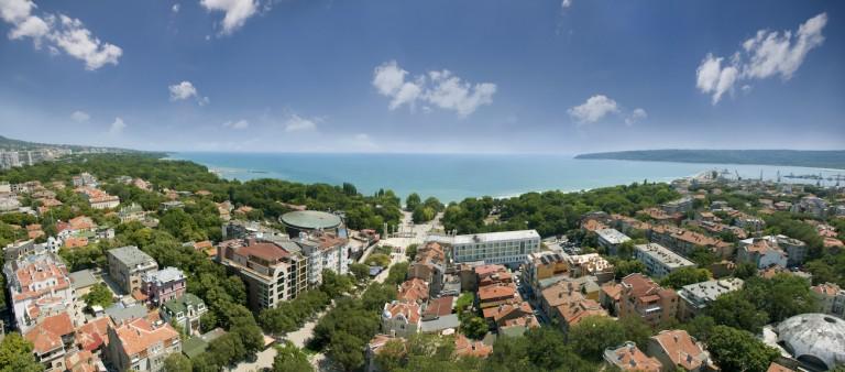 Burgas, Bulgarien och Sunny Beach med SOLFAKTOR
