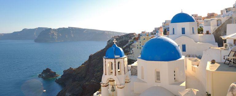 De bedste tilbud på rejser til Santorini fra Danmark