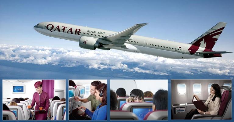 Qatar Airways kampagne med solfaktor