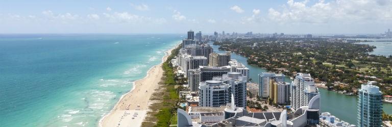 Billigaste resorna till Miami från hela Sverige