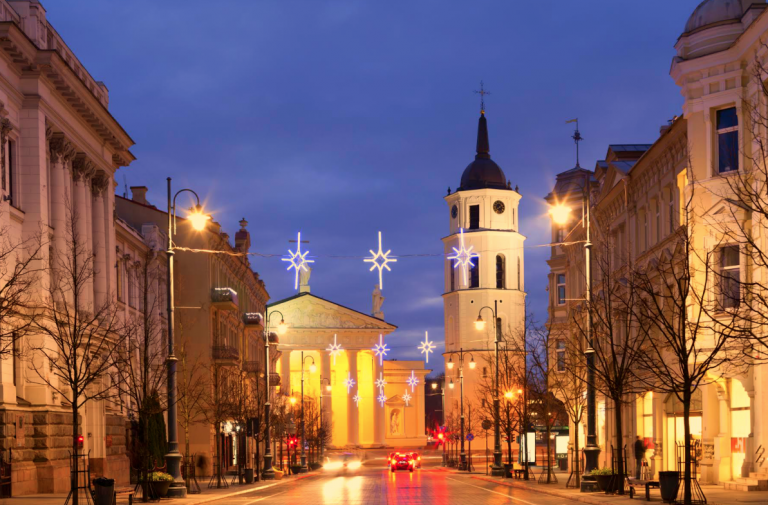 Reis til sjarmerende Vilnius