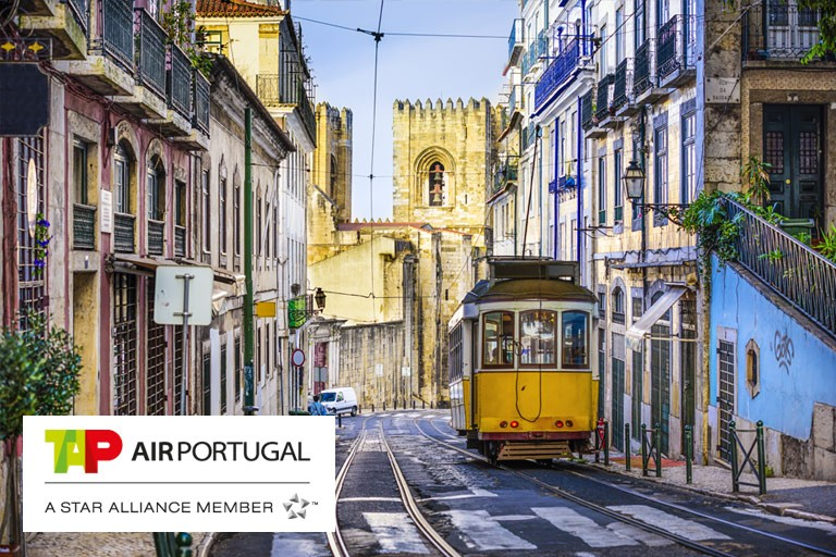 Fly direkte til Lisboa med TAP Air Portugal