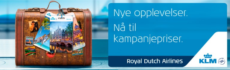 Augustkampanje med Air France & KLM
