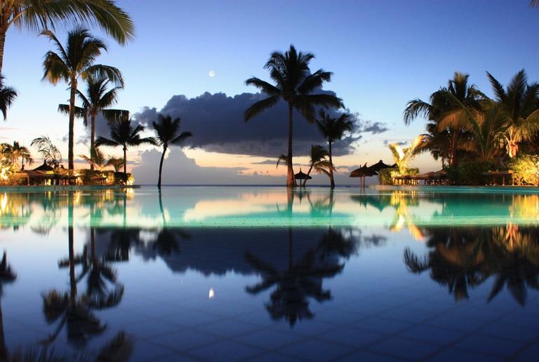 Solnedgang Mauritius