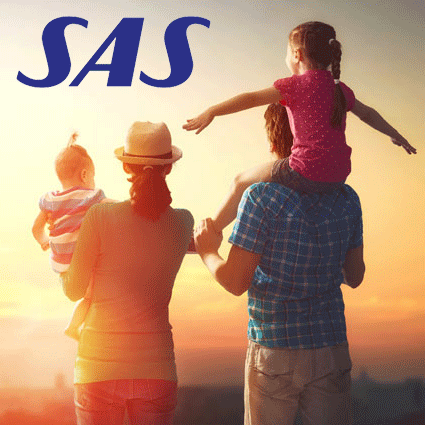 Flyg med SAS till värmen