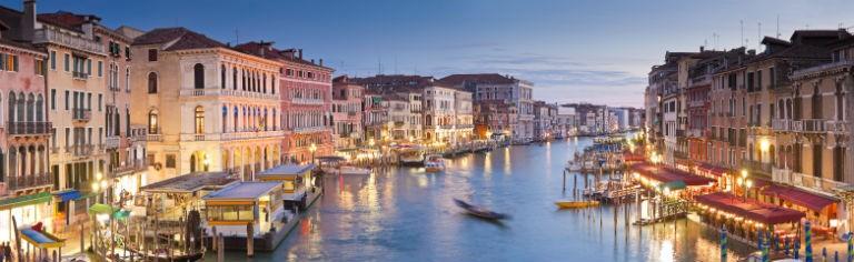 Billigaste resorna till Venedig från hela Sverige