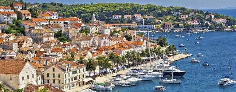 Billigaste resorna till åtta badorter i Kroatien - Sommaren 2019