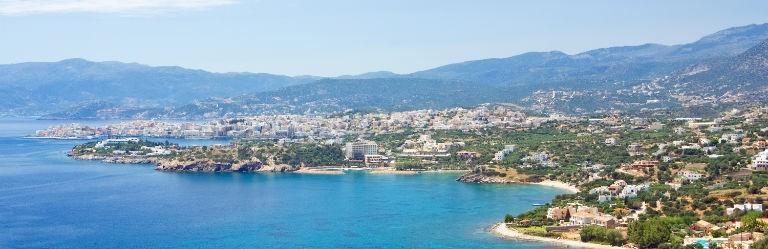 Billigaste resorna till sju populära badorter på Kreta