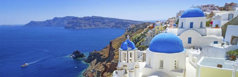 Billiga paketresor till Santorini