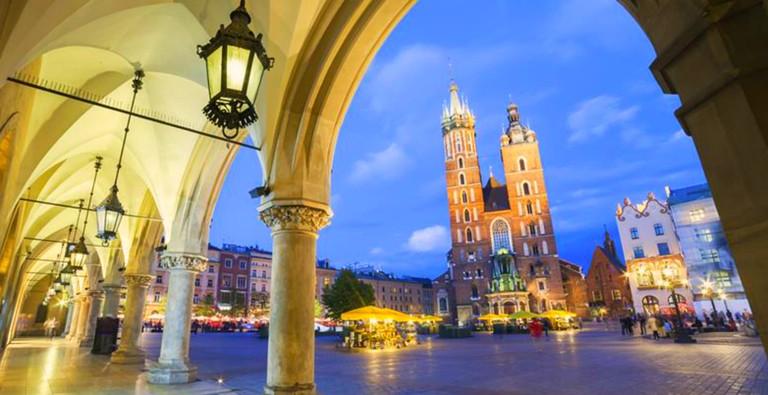 Billige pakkereiser til Krakow