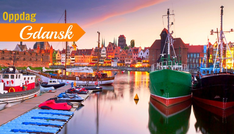 Reiser til Gdansk fra Haugesund