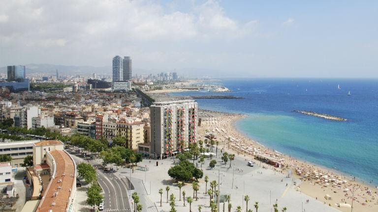 Fem gode hoteller i Barcelona