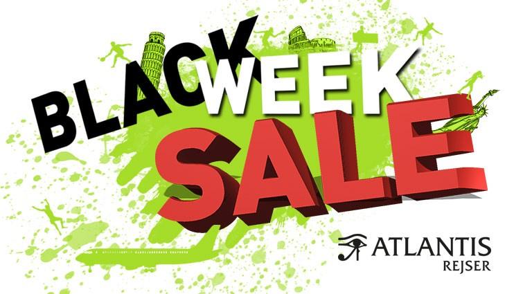 Black week sale - Atlantisrejser Danmark