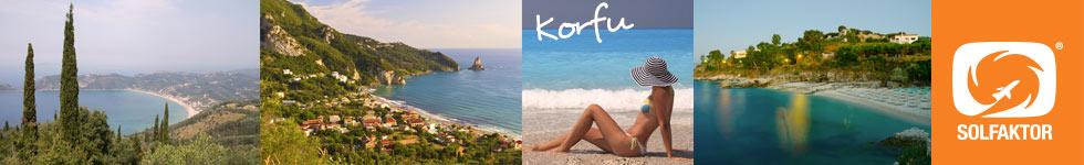 Vilken sida av Korfu väljer du? Här hittar du bägge två!