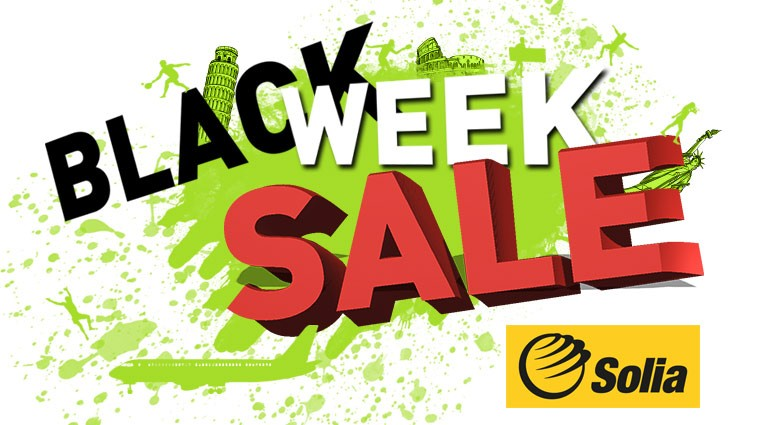 Black week sale - Solia