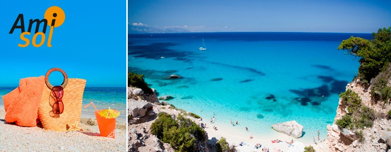 Reis til Sardinia med Amisol