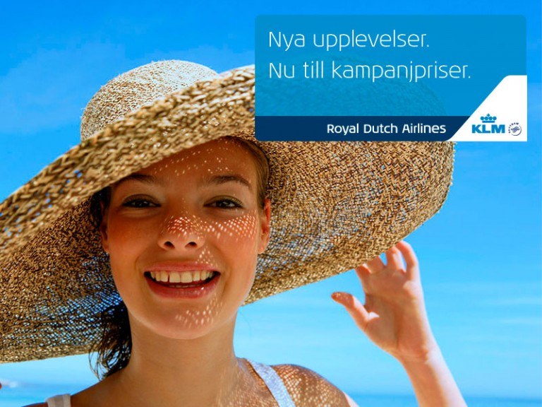Augustikampanj med Air France & KLM