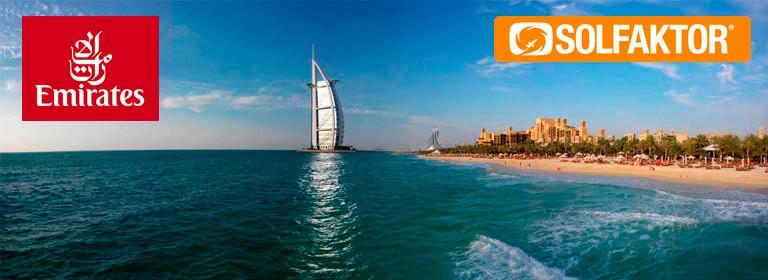 Vind rejse til Dubai for to med solfaktor.dk