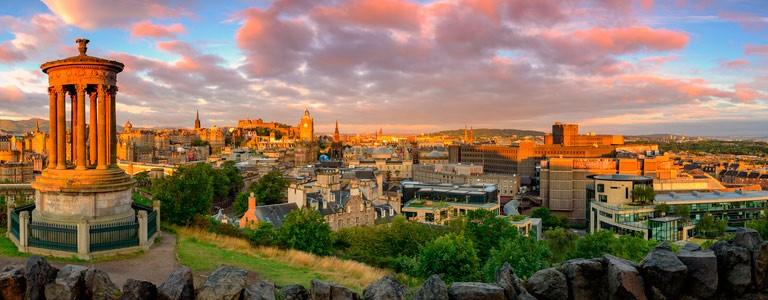 Edinburgh Skottland Reseguide