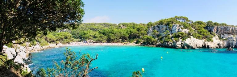 Billigaste resorna till Menorca från hela Sverige