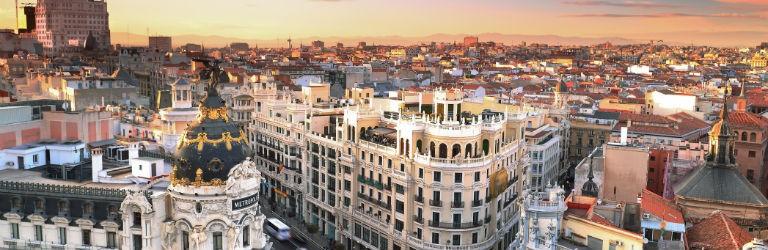 Billiga paketresor till Madrid