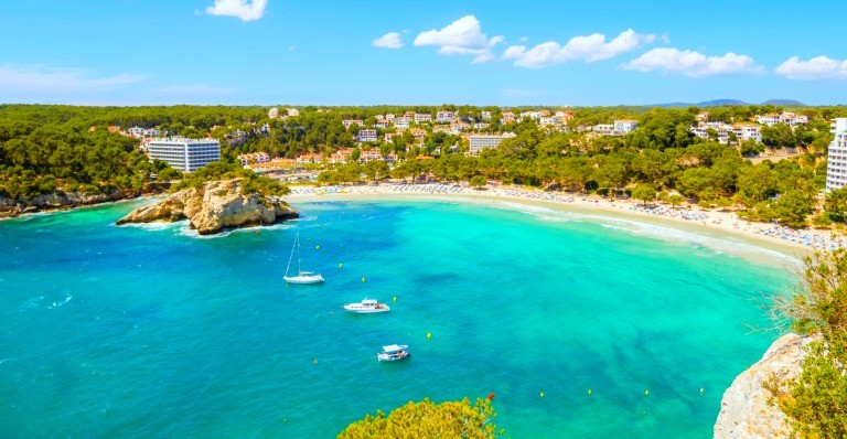 Billige pakkereiser til Menorca