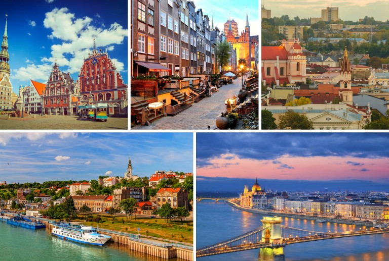 Fem budsjettvennlige storbyer