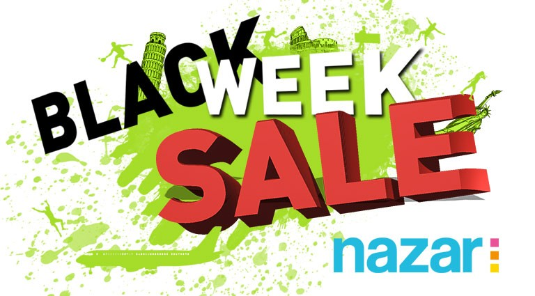 Black week sale  - Nazar