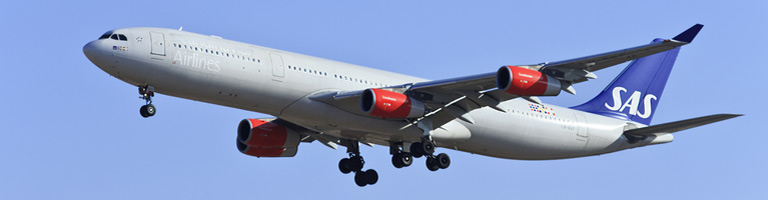 Billiga flygbiljetter med SAS till USA och Asien