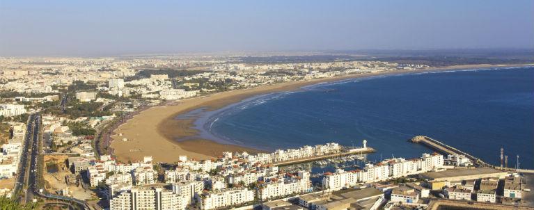 Lyxig semester i härliga Agadir