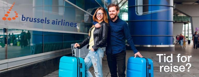 5 utvalgte med Brussels Airlines