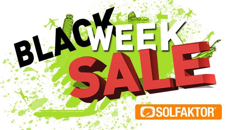 Black week sale SOLFAKTOR DK