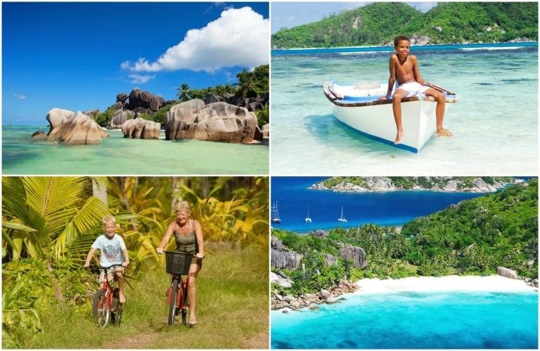 Drømmeferie på Seychellene