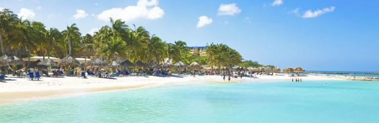 Billigaste resorna till Aruba från hela Sverige