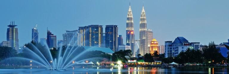 Billigaste resorna till Kuala Lumpur från hela Sverige