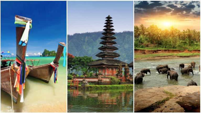 Billiga paketresor till Bali, Phuket och Sri Lanka