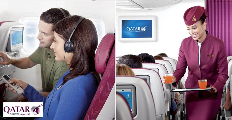 Kampanje med Qatar Airways