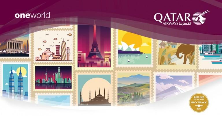 Qatar Airways kampanj från Stockholm