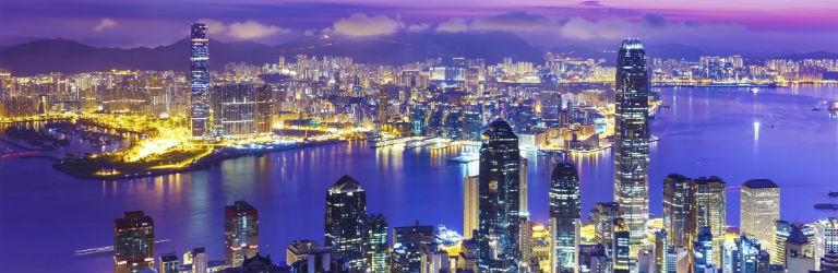 Billigaste resorna till Hong Kong från hela Sverige