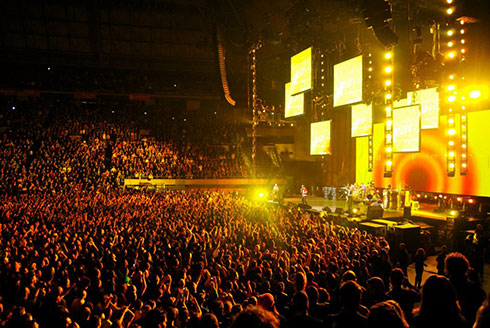 Red Hot Chili-peppers concert